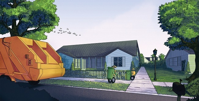 An illustration of the ROAR project. Image via Adrian Wirén, Mälardalens Högskola/Volvo