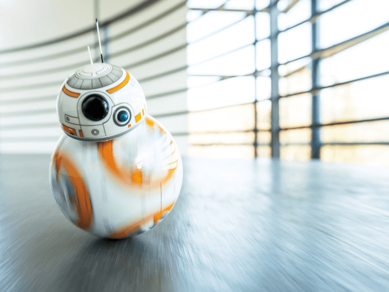 When puppies meet Star Wars droid BB-8 it's chaos (video)