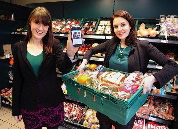 Aoibheann O'Brien, FoodCloud; Iseult Ward, FoodCloud
