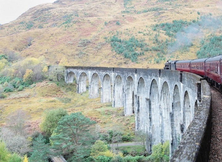 Train to Hogwarts - Harry Potter