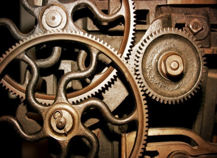 Internet of Things: industrial cogs