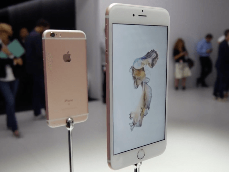 First look at the new iPhone 6s and iPhone 6s Plus (video)