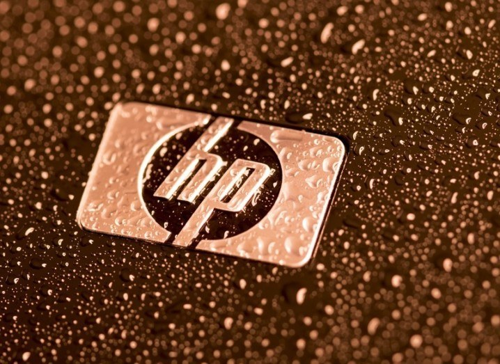 Jobs: raindrops on the HP logo