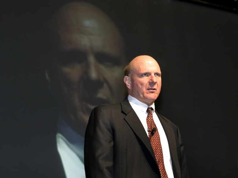 No one can sell Windows like Steve Ballmer can sell Windows
