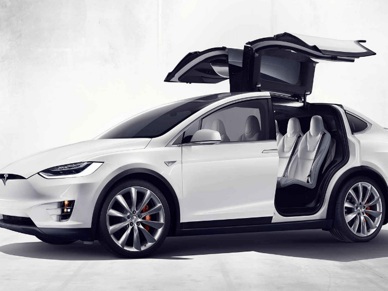 Tesla's Model X SUV has arrived — and it's faster than most sports cars
