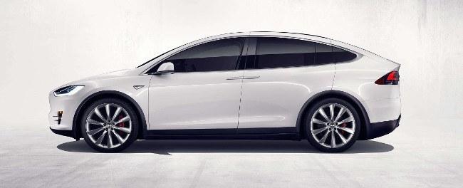 Tesla Model X exterior