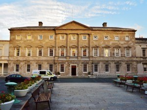 Budget 2016: Leinster House, Dublin