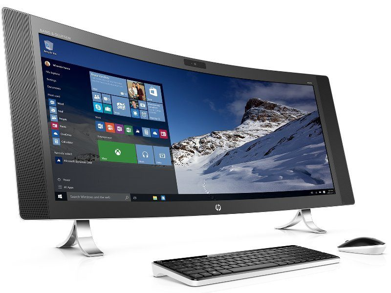 HP's new Windows PCs include giant Envy 'Curved All-in-One'