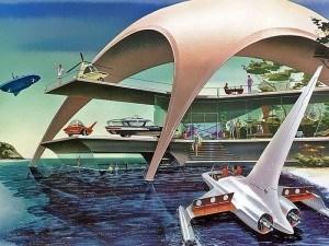 Autonomous cars 1950s