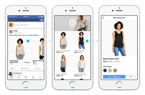 Facebook Canvas facebook shopping