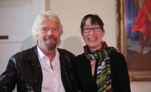 Richard Branson and Ann