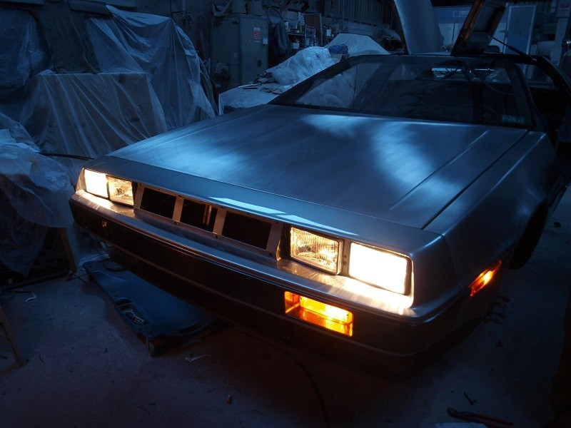 Belfast students to unveil electric DeLorean for Back to the Future day