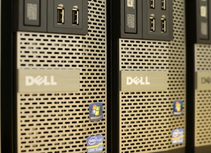 Dell EMC: computer towers
