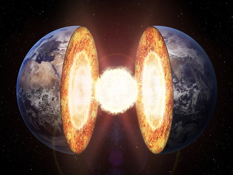 Earth's inner core found to be 1-1.5bn years old