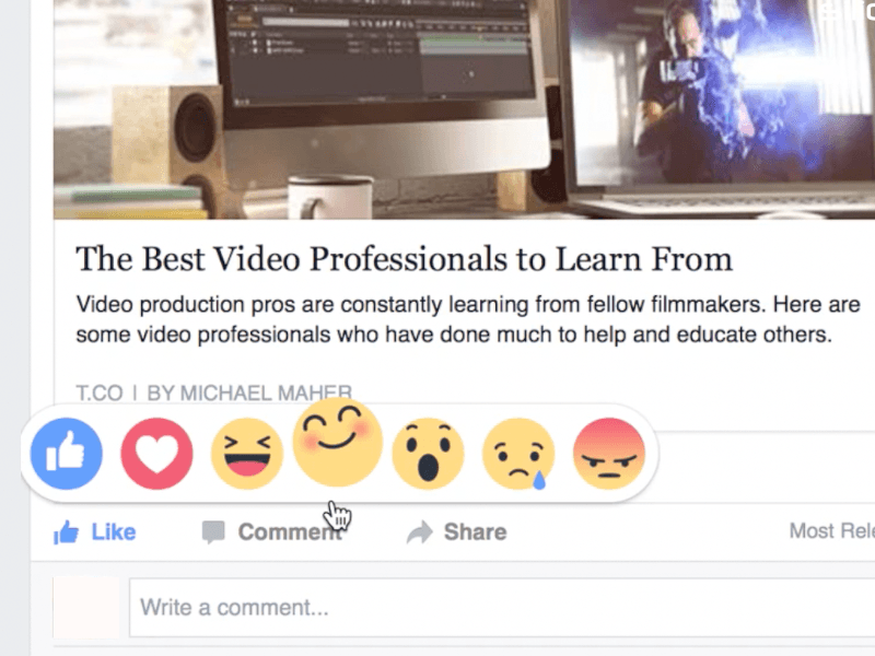 Watch: Facebook Reactions now live in Ireland and Spain