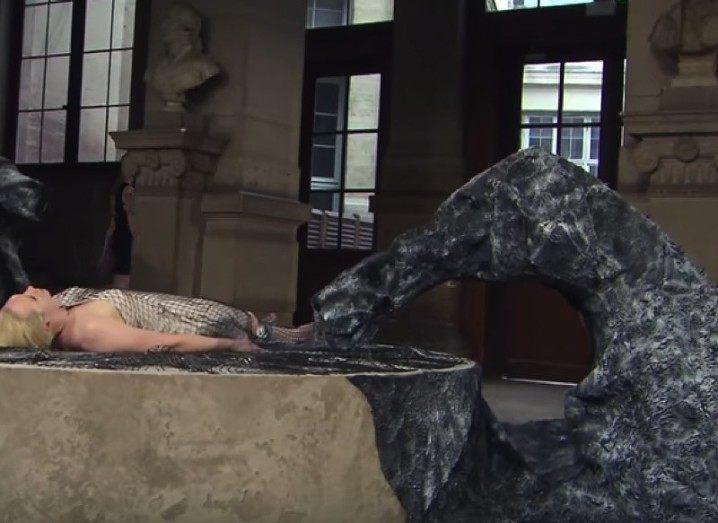 Gwendoline Christie 3D-printed dress