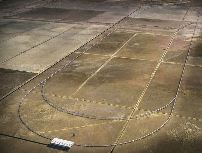 Hyperloop track