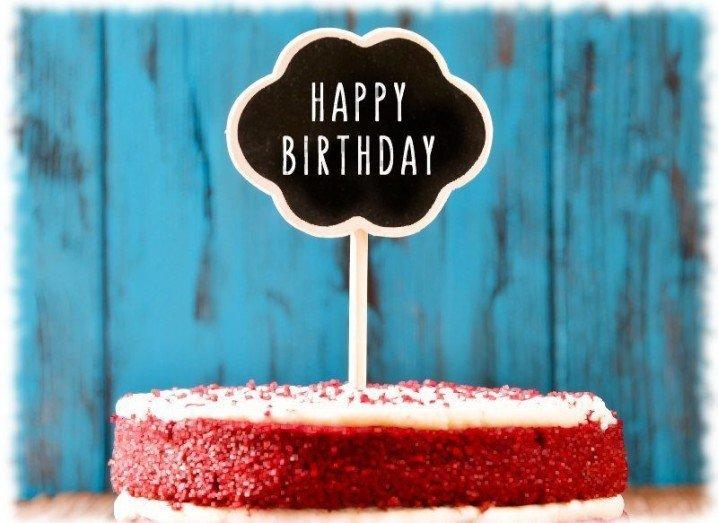 Instagram: birthday cake