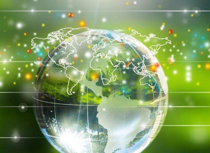 Internet of things globe
