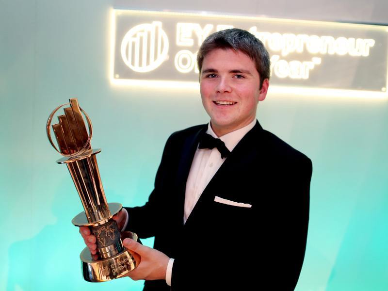 Stripe's Collison brothers win top EY entrepreneurial award