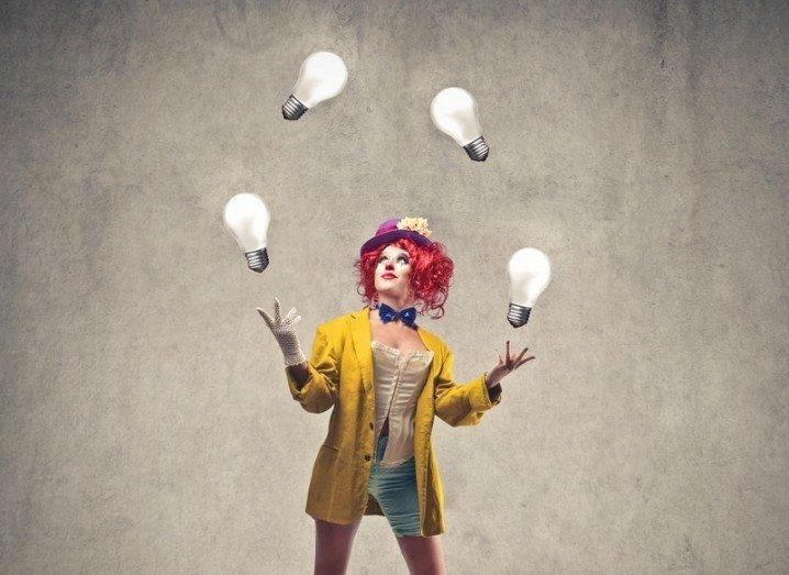 Juggling start-up gathering