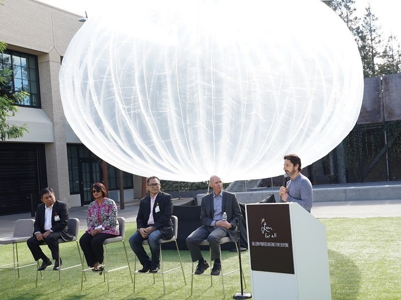 Project Loon set for Indonesia, will circle globe next year