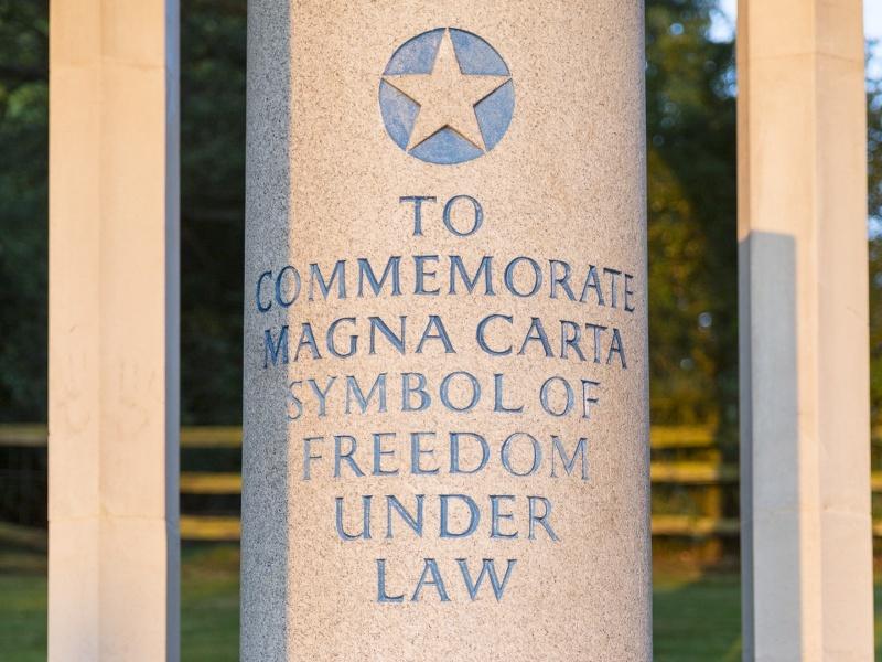 Towards a Magna Carta for Data