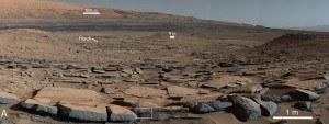 Mars lakes
