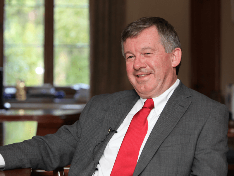 UCC President: We encourage students to drop out and start up (video)
