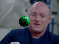 Mesmerising sights of liquids in space (video)