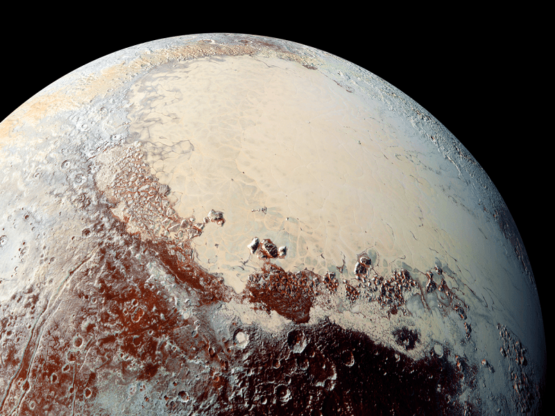 First New Horizons Pluto paper shows recent geological activity