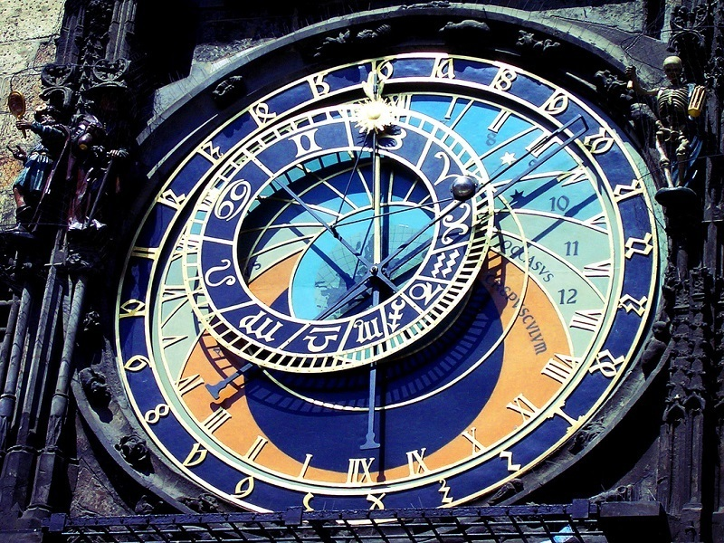 Prague astronomical clock celebrates 605th year with Google Doodle