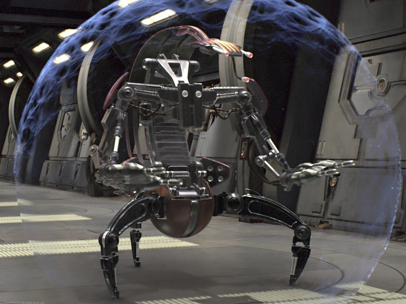 The Star Wars Droideka is very real and has just been invented in Japan (video)
