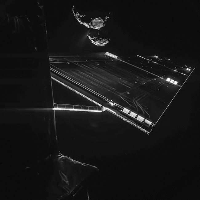 Rosetta selfie