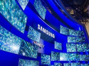 Samsung promotional screen