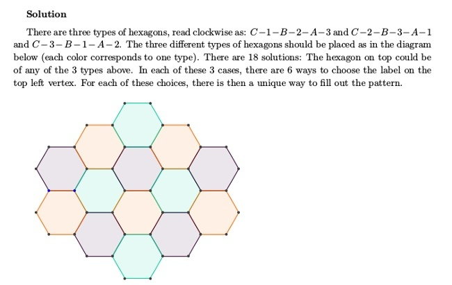 Maths Week Challenge 4 solution