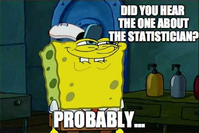 Statistician memes Spongebob