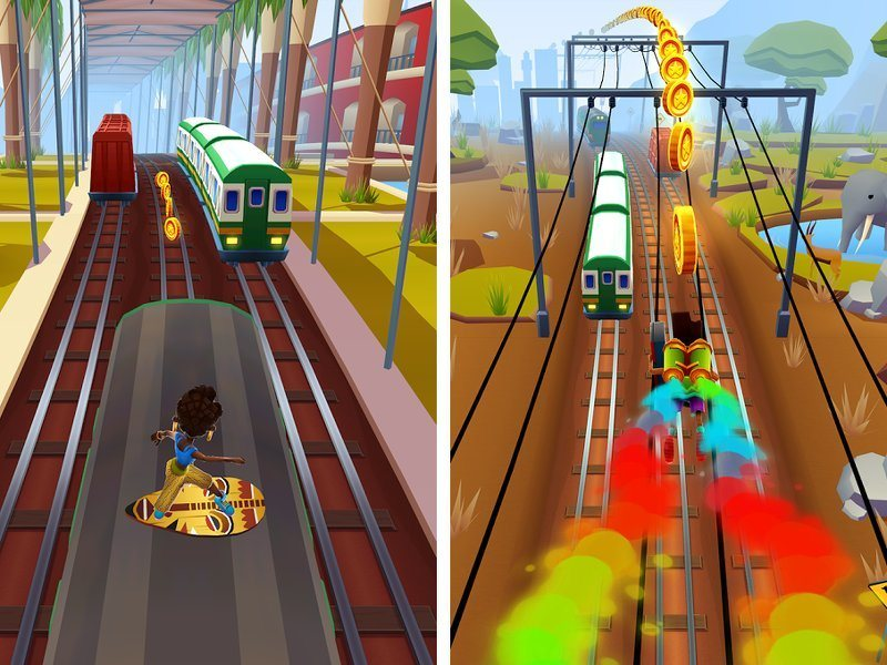 Pou and Subway Surfers used to lure users towards dodgy apps