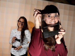 TIDA winner Lisa Helen with runner-up Dr Sharee Basdeo