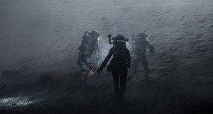 The Martian hurricane