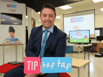 Tip Tap Tap turning school desks into IoT workstations