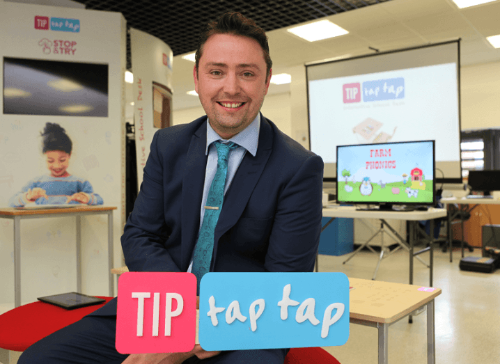 Tip Tap Tap CEO Stephen Collins