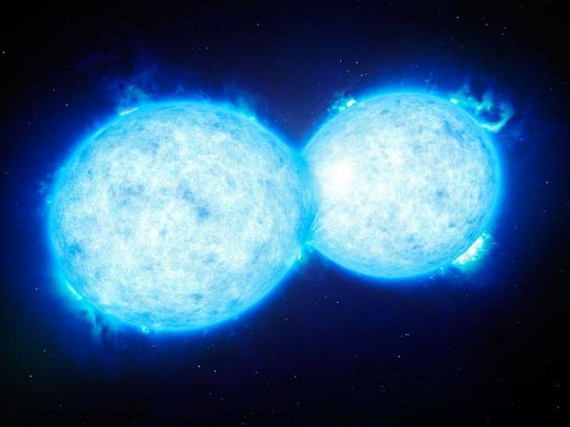Astronomers find stars kissing each other to death