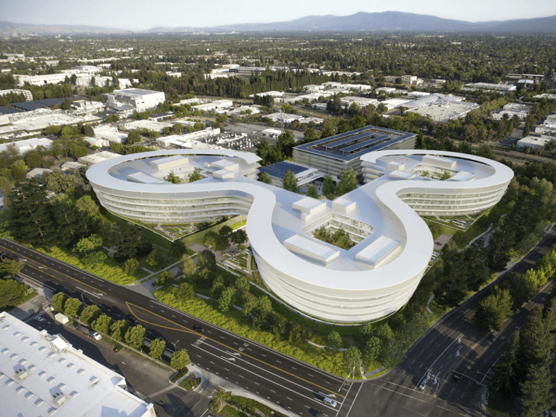 Apple to land its second spaceship in Sunnyvale, California (images)