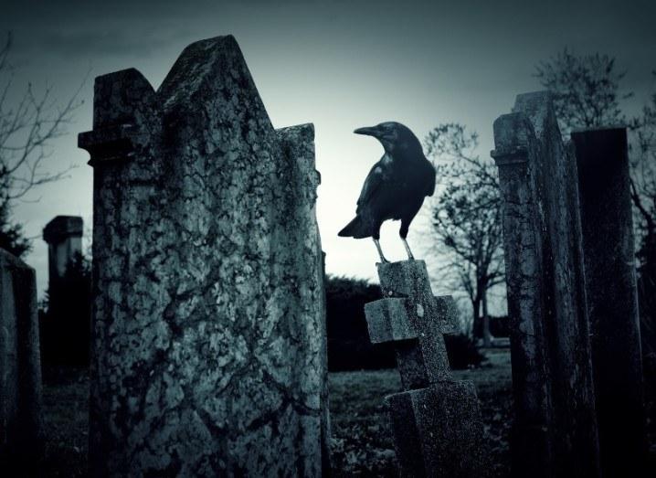 Cemetery smart coffin