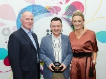 Colm Lyon, Silicon Republic founders honoured by IIA at Net Visionary Awards
