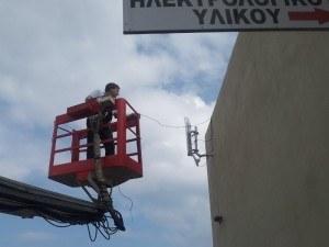 Refugee: Disaster Tech Labs installing broadband