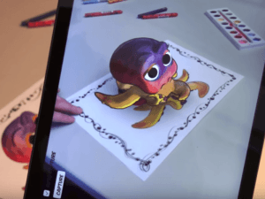 Disney-3-D-coloring