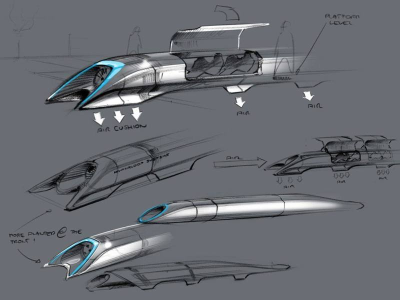 Hyperloop sketches