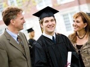 Promotion: graduate with parents